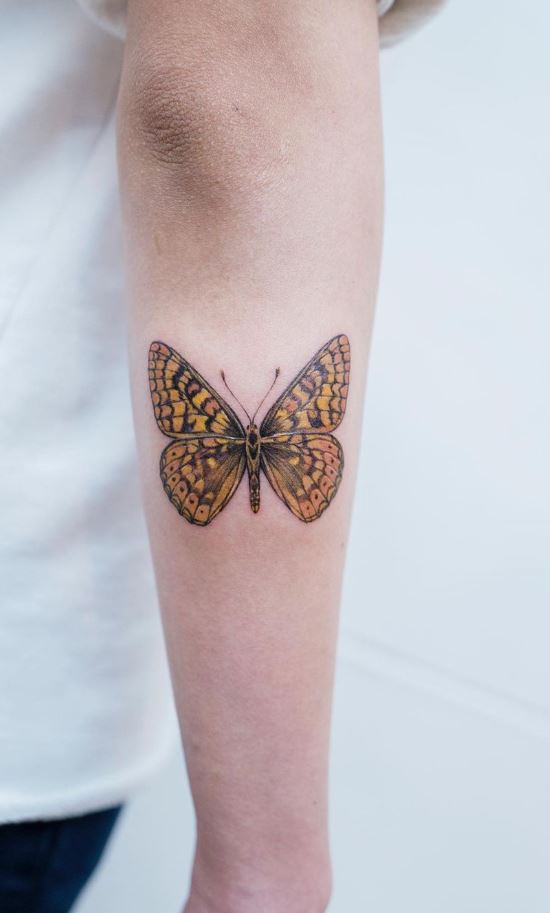 40 Most Impressive Butterfly Tattoos