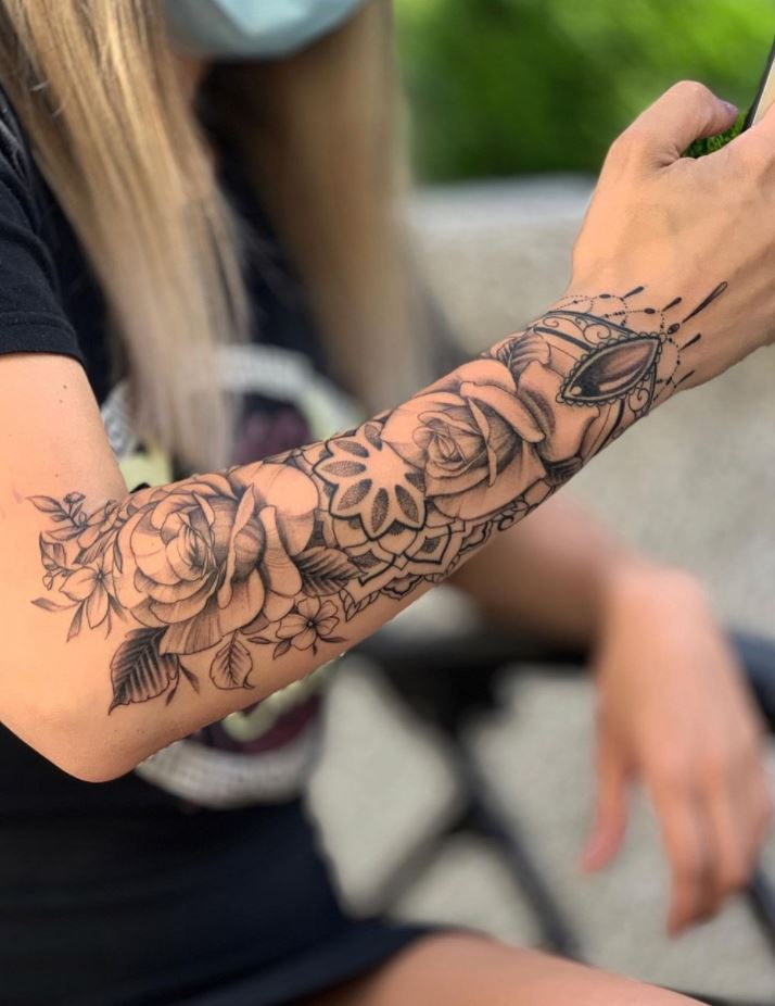 50 Best Flower Inspired Tattoos
