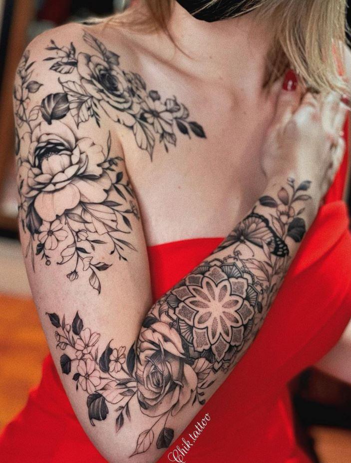 50 Best Flower Inspired Tattoos